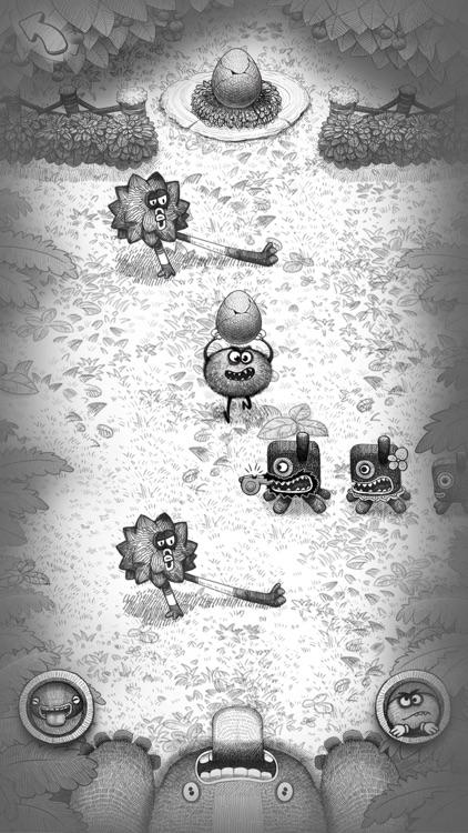 Bad Hungry Monster screenshot-5