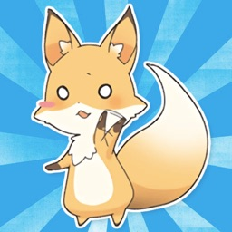 Girly Fox! Stickers