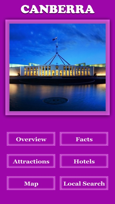 Canberra City Offline Guide screenshot two