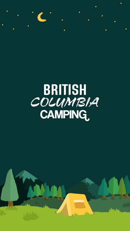 British Columbia Camping screenshot-0