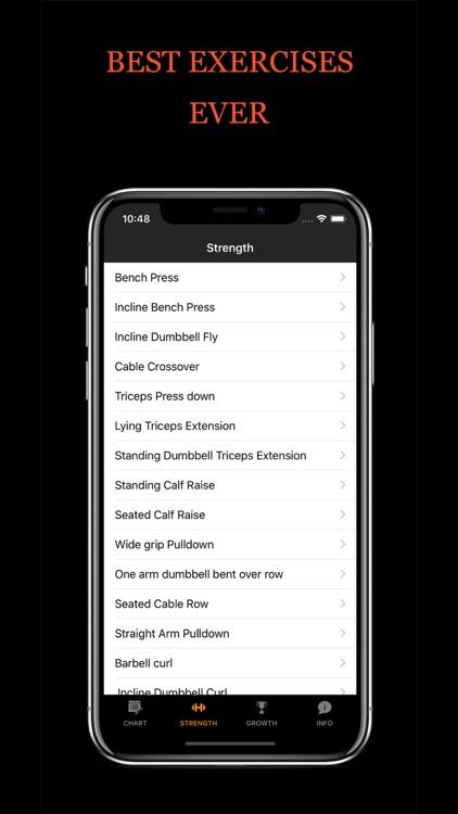 Bigger Men - Gym workouts plan screenshot-4
