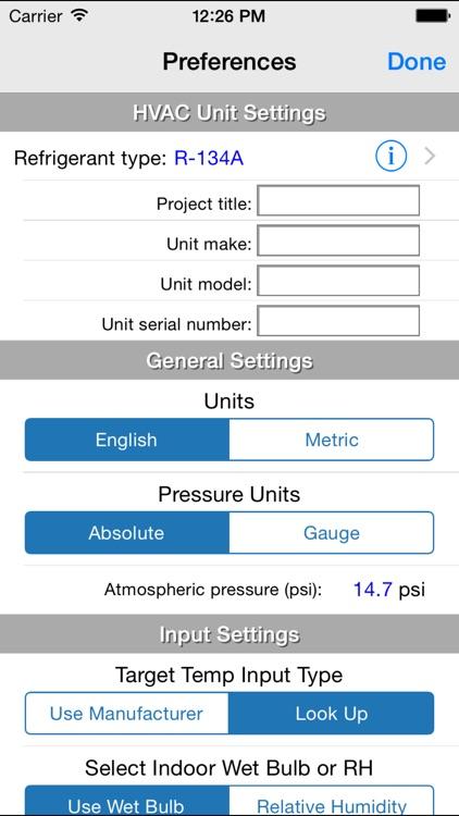 HVAC RefCharge screenshot-3