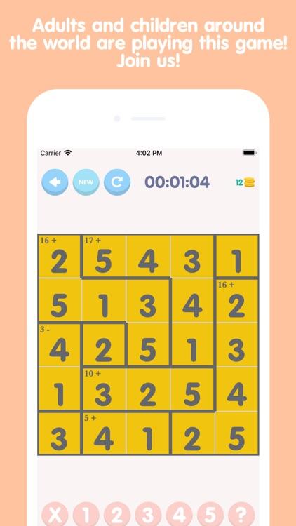 Math Square - Brain Training screenshot-4