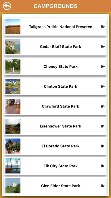 Screenshot for Kansas National Parks in Peru App Store