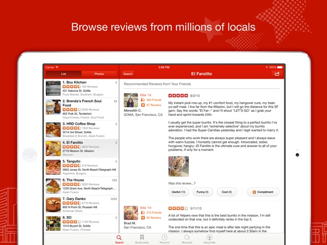 Yelp: Your Local City Guide Screenshot