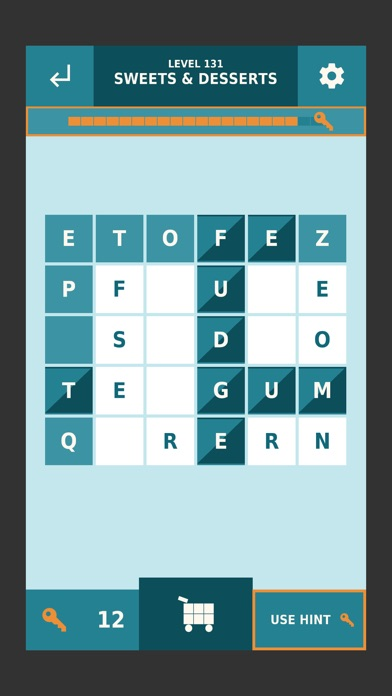 Word Slide - Train your brain! screenshot