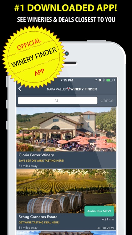 Napa Valley Winery Finder REAL screenshot-3