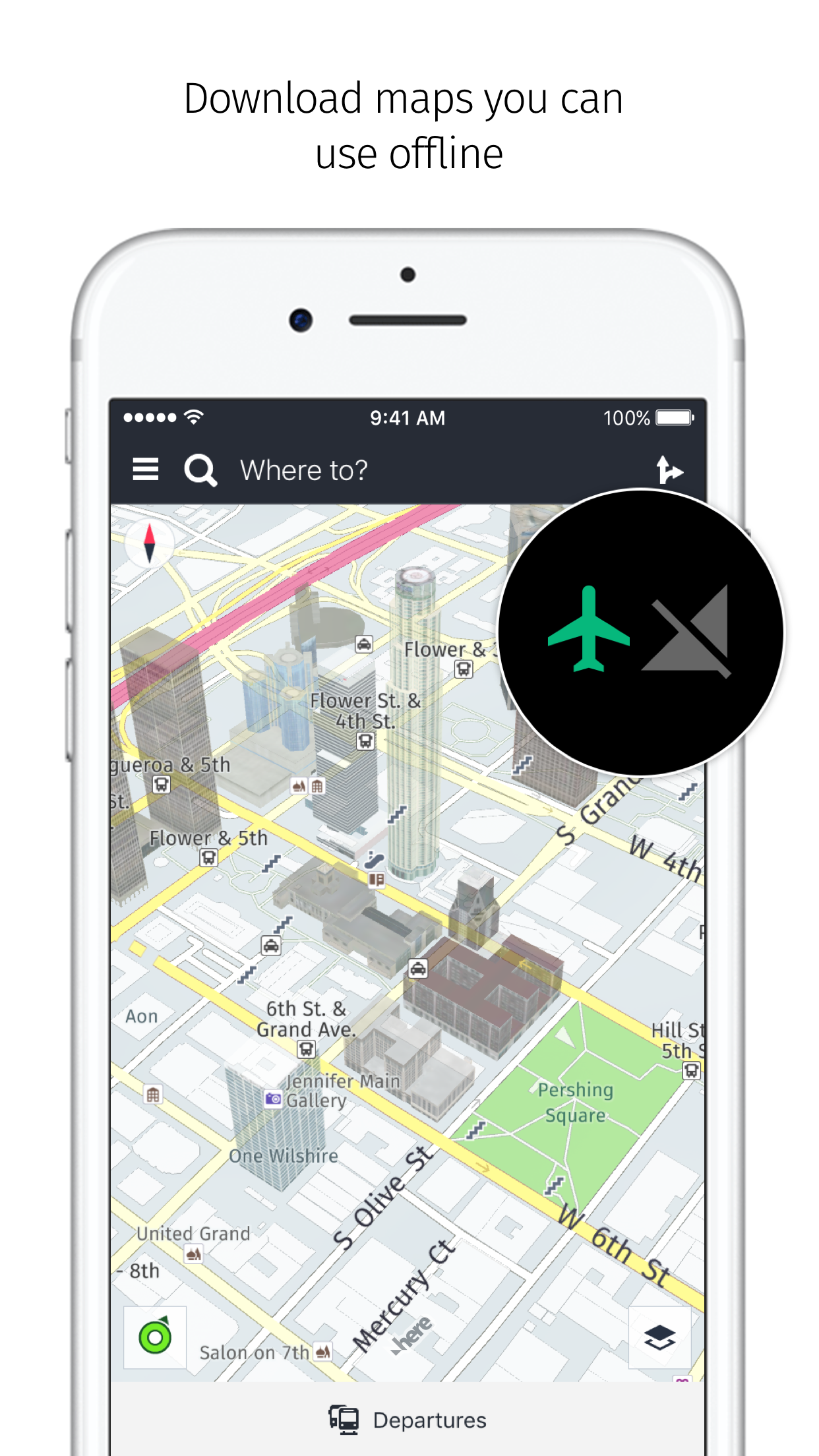 HERE WeGo - City navigation Screenshot