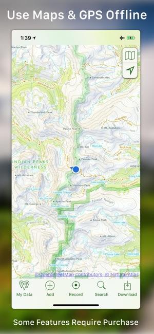 Topo maps en app store iphone ipad apple watch gumiabroncs Choice Image
