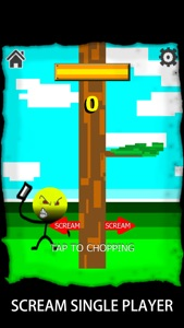 Scream Timbernote:the game of voice controller version 2 0
