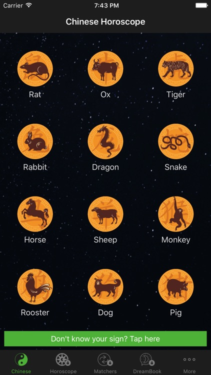Chinese Horoscope Lite