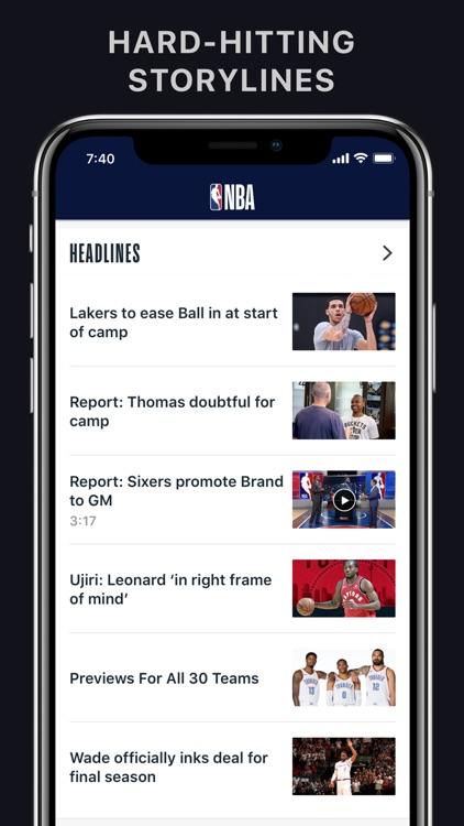NBA: Official App screenshot-3