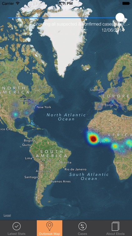 Ebola Tracker screenshot-4