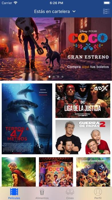 Screenshot for Cinépolis in Mexico App Store