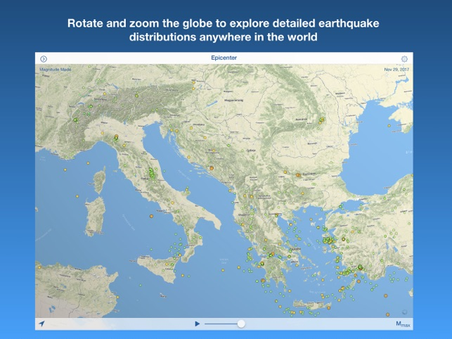 Epicenter global earthquakes on the app store gumiabroncs Image collections