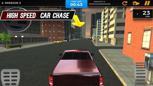 Auto Car Driving: City Crime