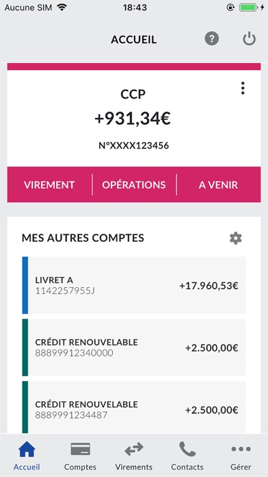 download La Banque Postale apps 1