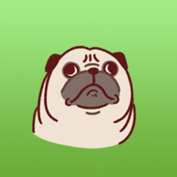 Pugmoji - Cute Pug Dog Sticker