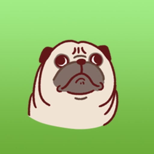 Pugmoji - Cute Pug Dog Sticker