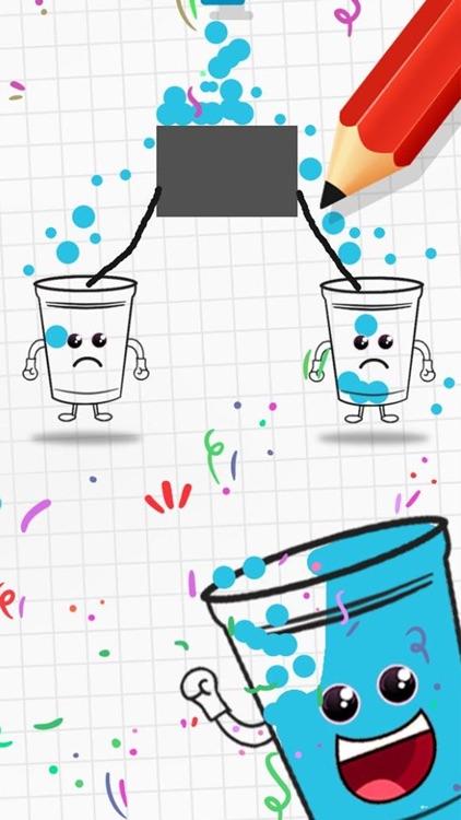 Happy Glass Draw Line