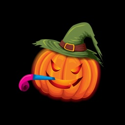 Halloween - Trick or Treat Party Text Sticker App