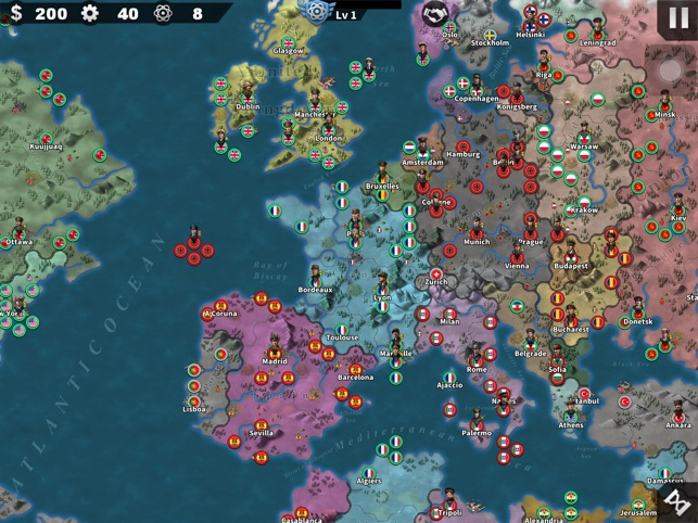 ‎World Conqueror 4 Screenshot
