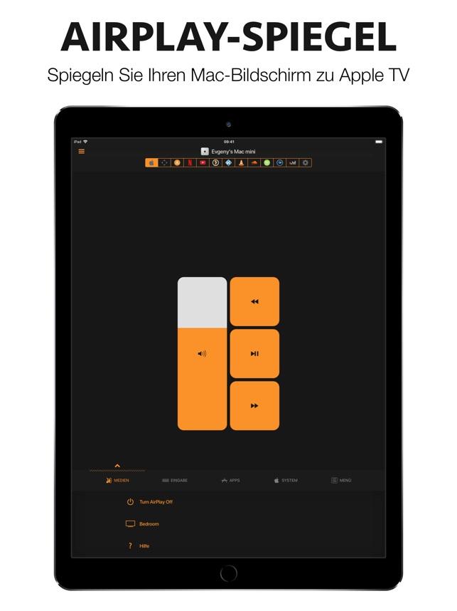 Remote Control for Mac - Pro Screenshot