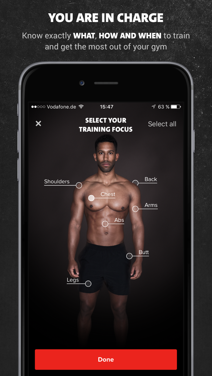 Freeletics Gym Screenshot
