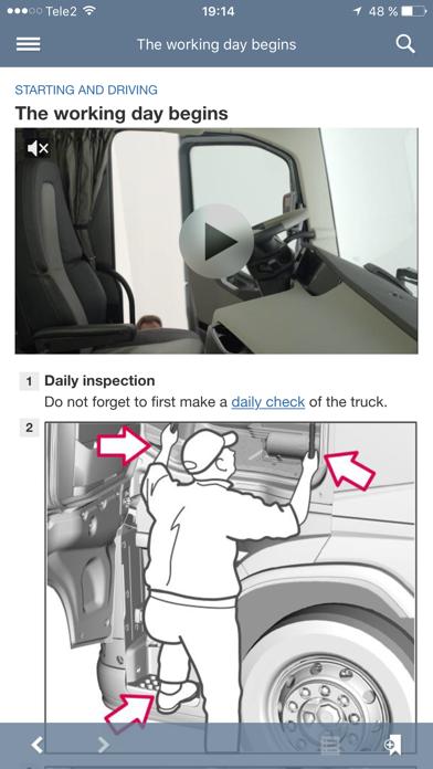 Volvo Trucks Driver's Handbook screenshot three