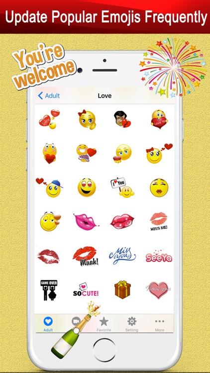 Emoji Keyboard Gif for Bitmoji screenshot-4