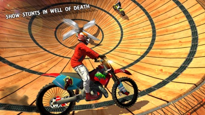 Bike Stunts Impossible Tracks Rider app image