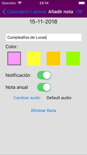 Calendario Laboral 2020 Valencia Capital.Calendario Laboral Espana 2019 En App Store