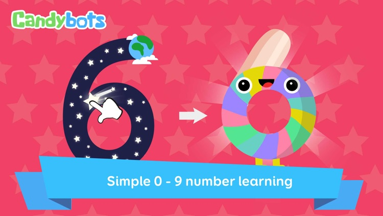Candy 123 Numbers - Writing