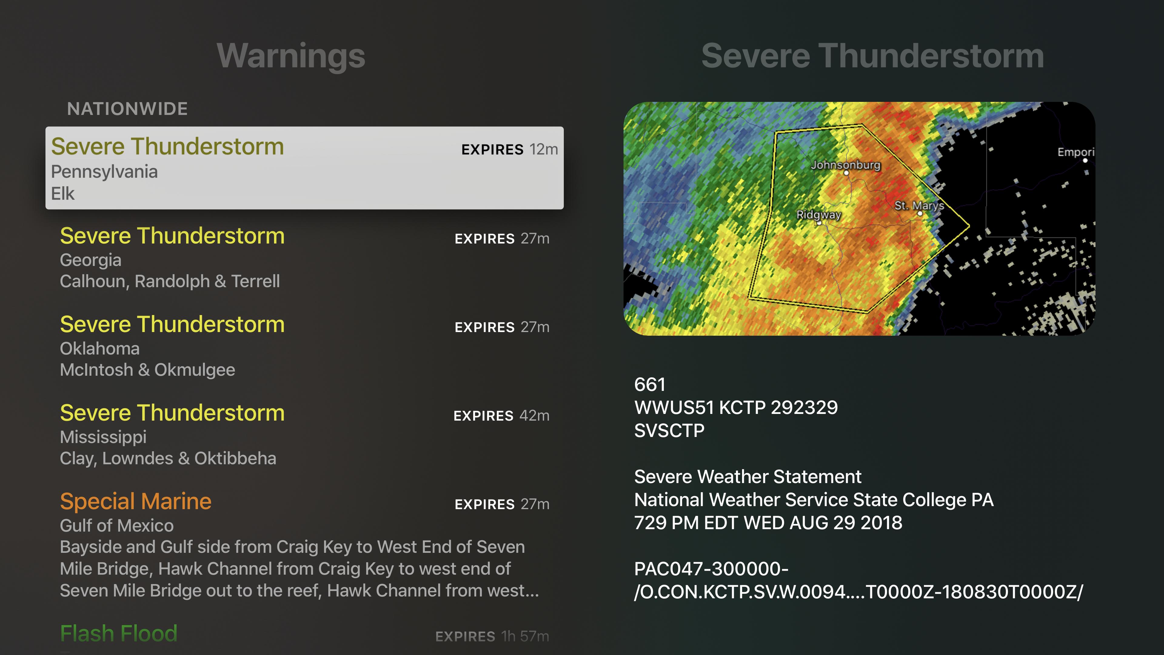 RadarScope screenshot 18