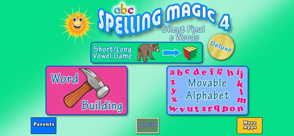 ABC SPELLING MAGIC 4 Cheat Codes