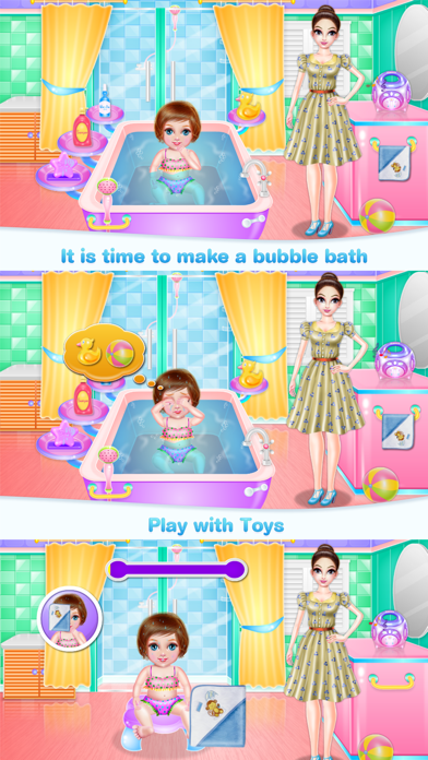 Crazy Baby Nanny Care Screenshot