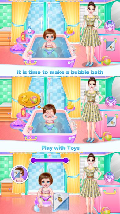 Crazy Baby Nanny Care Screenshot