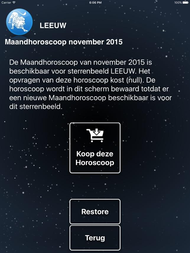 telegraaf horoscoop 2014