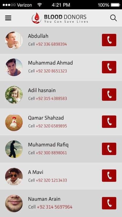 Blood Donors Pakistan screenshot-4