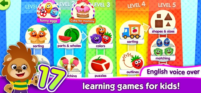 Learning Games 4 Kids Toddlers On The App Store