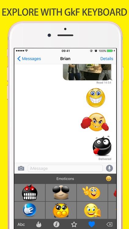 Gif Keyboard Emoji Giphy Maker screenshot-4