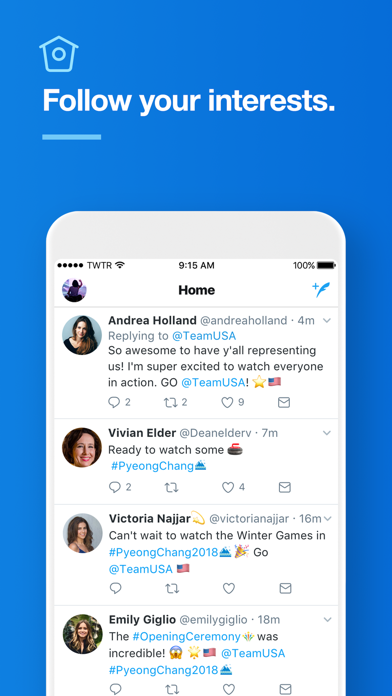 Screenshot for Twitter in United States App Store