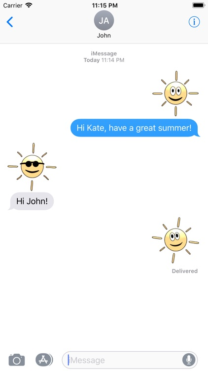 Happy Summer Emoji
