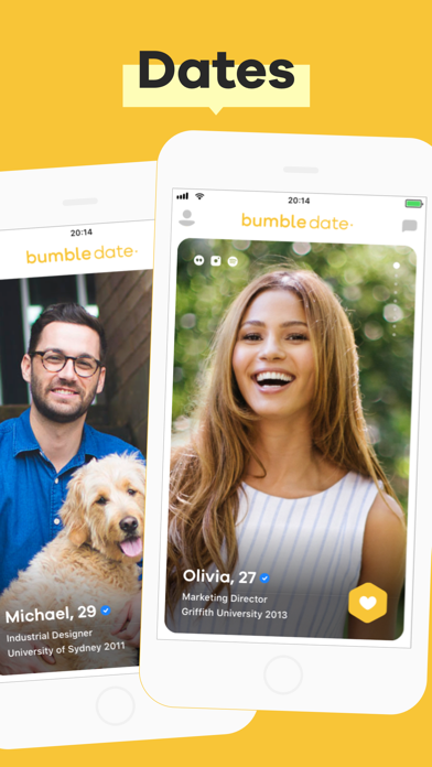 Screenshot for Bumble in Australia App Store