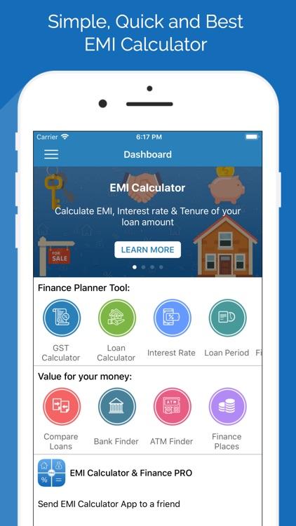 EMI Calculator & Finance PRO screenshot-0