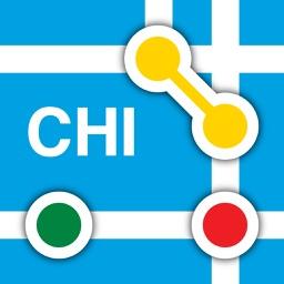 Chicago L - Subway Map