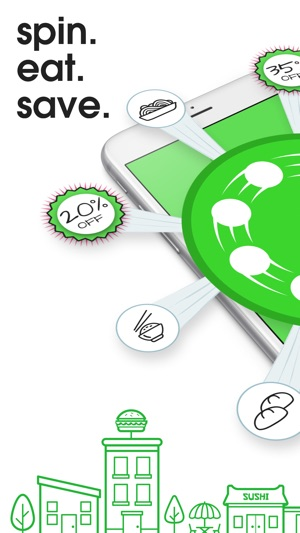 Spotluck - Spin  Eat  Save  on the App Store
