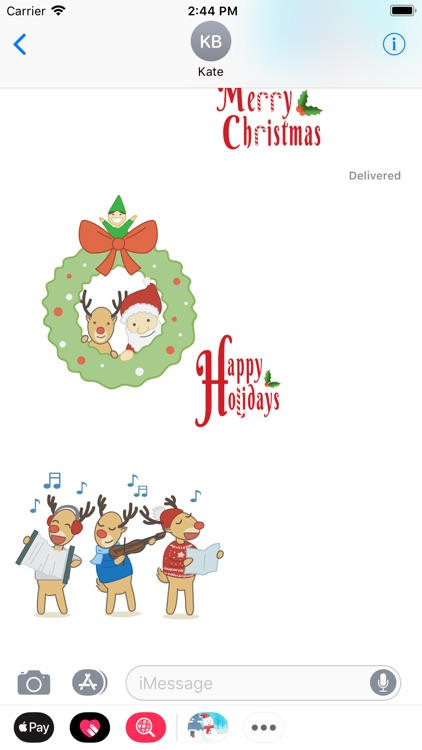 Xmas Sticker screenshot-1