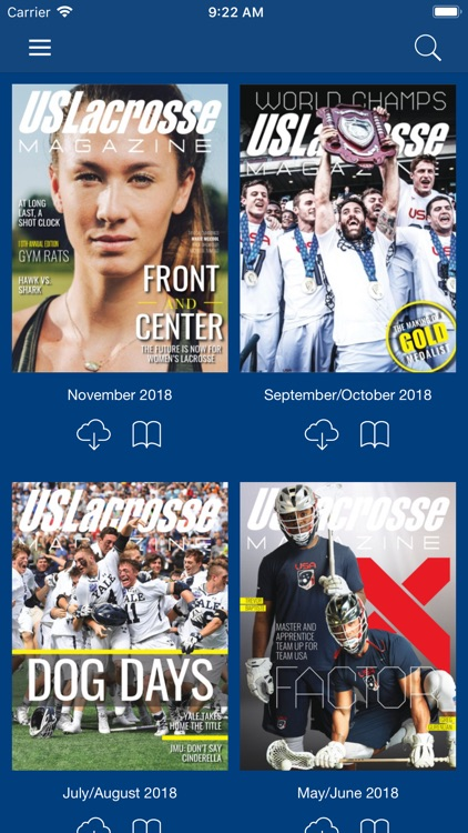 US Lacrosse Publications