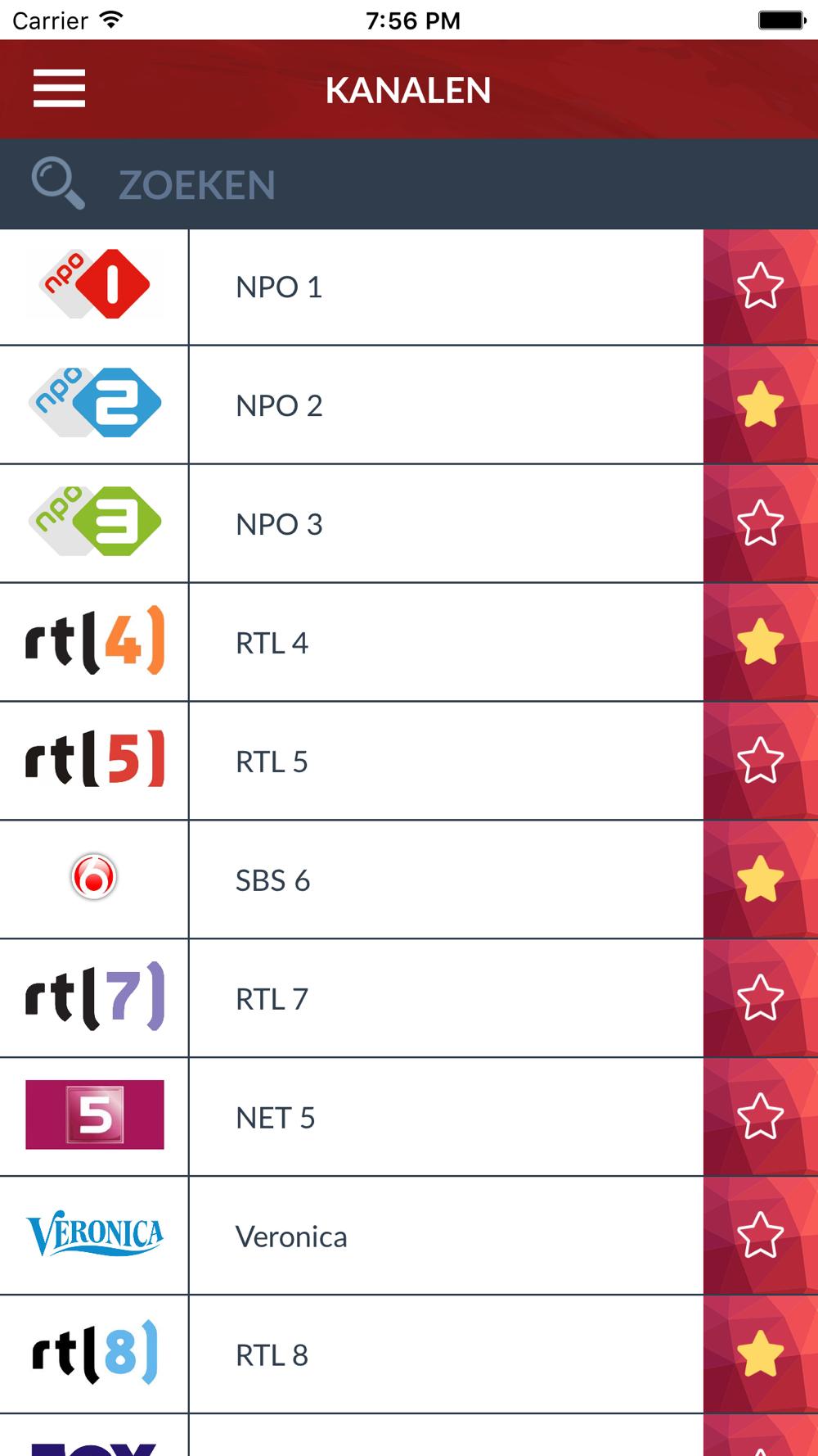 TV Gids in het Nederlands NL Free Download App for iPhone ...